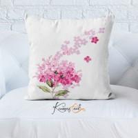 Kumaş Evi Dekoratif Yastık Kılıfı  - 14 - Çiçekler