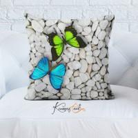 Kumaş Evi Dekoratif Yastık Kılıfı - 19 - Doğa