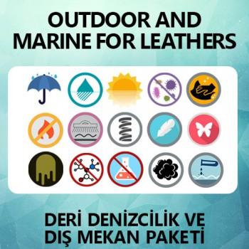 Deri Denizcilik & Dış Mekan Paketi / Outdoor & Marine Protection For Leathers