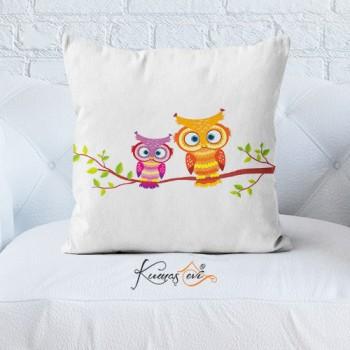 Kumaş Evi Dekoratif Yastık Kılıfı - 4 - Kids